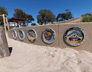 Bandon Tce Reserve Mosaic Artwork