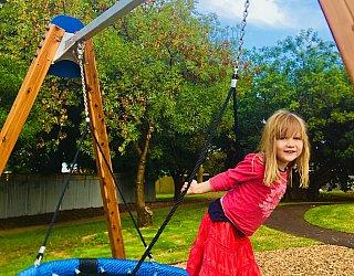 Breakout Creek Reserve Basket Swing 2