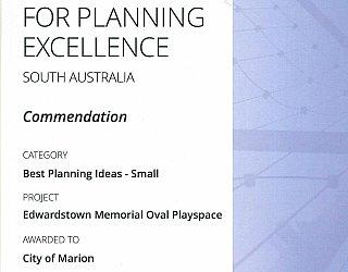 ESMRG | 2016 PLA Award | Best Planning Ideas Small