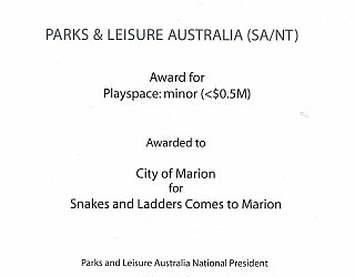 ESMRG | 2016 PLA Award | Playspace Minor