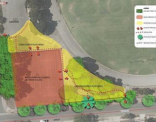 Edwardstown Esmrg Playspace Site Plan