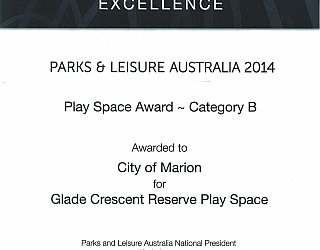 Glade Crescent Reserve Award Pla Category B