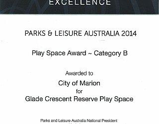 Glade Crescent Reserve Award Pla Category B