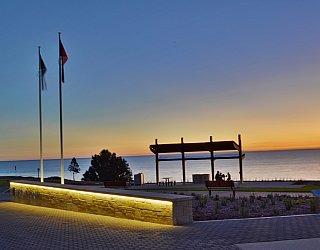 Hallett Cove Foreshore Commemorative Wall Sunset