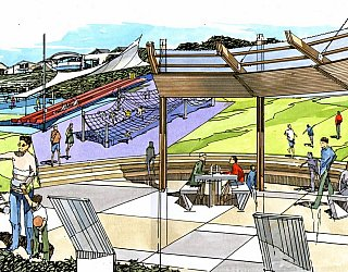 Hallett Cove Foreshore Master Plan Panorama Artist Playspace After 1 Jpg