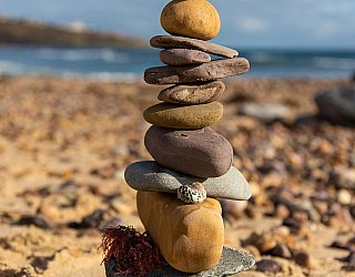 Hallett Cove Foreshore Stacking Stones 1