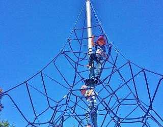 Harbrow Grove Reserve Climbing Net Square1024X1024