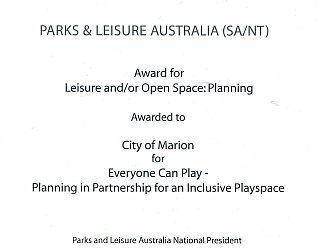 Hendrie Street Reserve | 2016 PLA Award | Open Space Planning