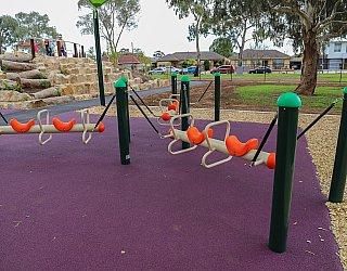 Hendrie Street Reserve Playground Bullrider 1