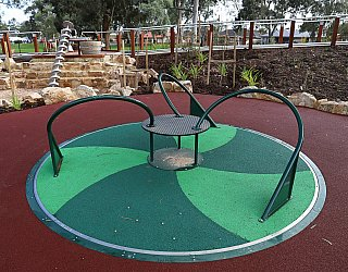 Hendrie Street Reserve Playground Carousel 1