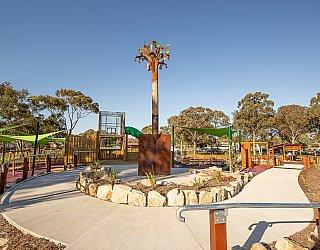 Hendrie Street Reserve Playground Facilities Pathway 1