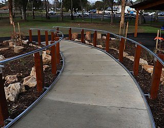 Hendrie Street Reserve Playground Facilities Pathway 2