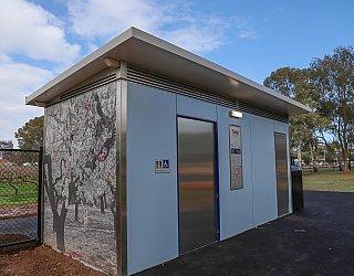 Hendrie Street Reserve Playground Facilities Toilet 1