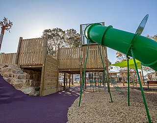 Hendrie Street Reserve Playground Multistation 1