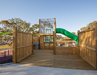 Hendrie Street Reserve Playground Multistation 2