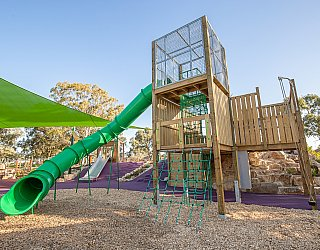 Hendrie Street Reserve Playground Multistation 3