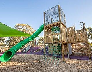 Hendrie Street Reserve Playground Multistation 3