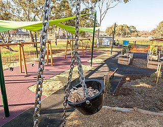 Hendrie Street Reserve Playground Multistation Bucket Pulley 1
