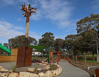 Hendrie Street Reserve Playground Public Art 2