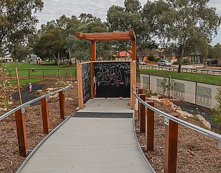 Hendrie Street Reserve Playground Sensory Room 2