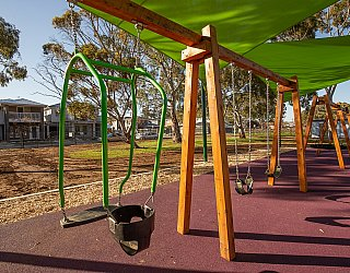 Hendrie Street Reserve Playground Swings Expression Swing 1