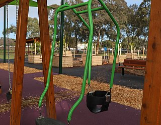 Hendrie Street Reserve Playground Swings Expression Swing 2