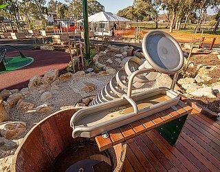 Hendrie Street Reserve Playground Water Corkscrew 2