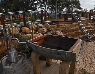 Hendrie Street Reserve Playground Water Pump 1