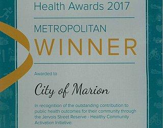 Jervois Street Reserve | 2017 EIPHA Award | Metropolitan Winner