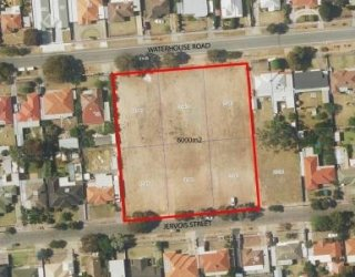 Jervois Street Reserve Aerial Photo Lowres