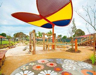 Jervois Street Reserve Butterfly Shade Mosaic Hr