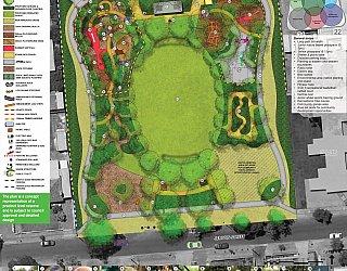 Jervois Street Reserve South Plympton Design
