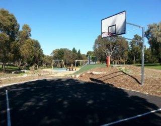 Linear Park Reserve Basketball