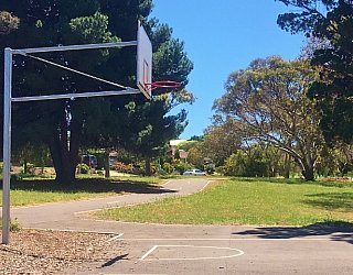 Linear Park Reserve Playspace Basketball