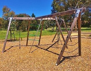 Linear Park Reserve Playspace Climbing Frame