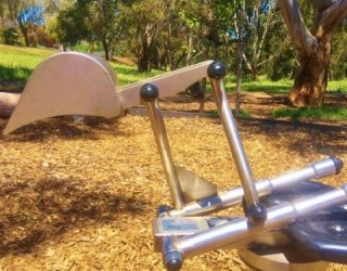 Linear Park Reserve Playspace Digger Square