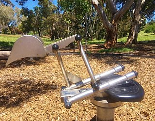 Linear Park Reserve Playspace Digger