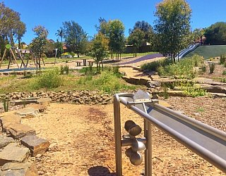 Linear Park Reserve Playspace Pump Channel 3