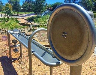 Linear Park Reserve Playspace Pump Channel