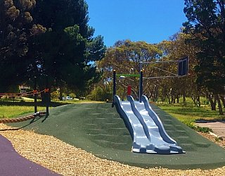 Linear Park Reserve Playspace Slide