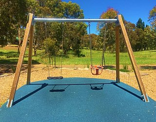 Linear Park Reserve Playspace Swings