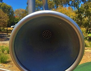 Linear Park Reserve Playspace Talking Tube 2