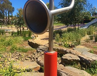 Linear Park Reserve Playspace Talking Tube