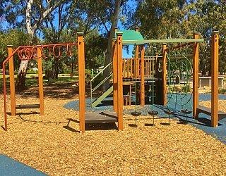 Maldon Avenue Reserve Playspace Monkey