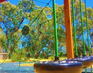 Maldon Avenue Reserve Playspace Pommel Square