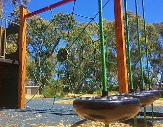 Maldon Avenue Reserve Playspace Pommel
