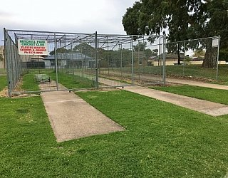 Mitchell Park Oval Cricket Nets