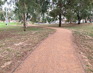 Mitchell Park Oval Path
