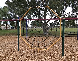 Mitchell Park Oval Playground Spider Net