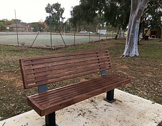 Mitchell Park Oval Seating 2